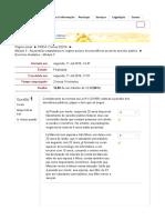 Exercício Avaliativo III - Previdência social