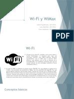 Wi-Fi y WiMax