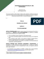 7.0 Mecanismos de Impugnación Delegados