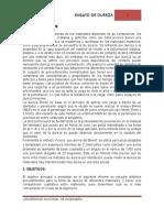 Informe de Ensayo Dureza