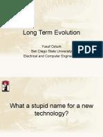 Long Term Evolution(1)