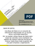 Introducción - Base de Datos II