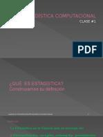 Estadisticacomputacional Clase1 SINDY