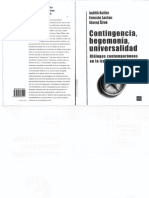 Contingencia Hegemonia Universalidad 2000 Ocr