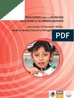 Modelo Educativo Bilingüe Bicultural