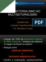 Bissetorialismo e Multissetorialismo