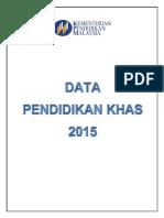Buku Data, Pendidikan Khas 2015