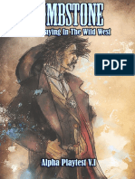 Tombstone  Wild West  Role-Playing Game (Alpha Playtest)