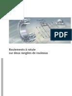 Roulements a Rotule Sur Deux Rangees de Rouleaux