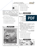 Simulado 29 (L. P - 3º Ano)  - Blog do Prof. Warles.doc
