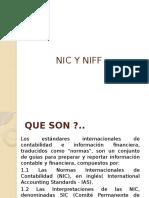 NIC Y NIIF