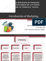 Introducción al Marketing / Marketing Turístico