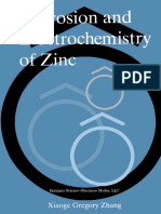 Zhang - Corrosion and Electrochemistry of Zinc