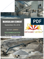 Mangalam Cement - Dynamic