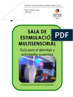 Guía de Estimulación Multisensorial - SENSE Revisada Final