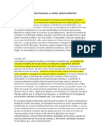 Consumption, Human Needs, And Global Environmental Change_traducido