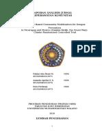 Laporan Analisis Jurnal Komunitas Fix