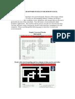 Create Crossword Puzzle
