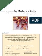 Interações Medicamentosas