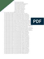 Game Data File List