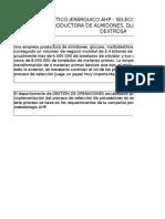 Ejercicio AHP - Taller