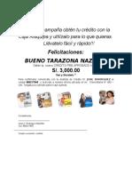 Carta de Invitacion Bueno Tarazona Nazario