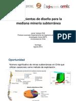 04. Herramientas de Diseno Para La Mediana Mineria Subterranea