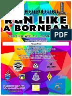 Run Lika A Bornean Certificate