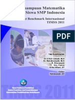 LAPORAN TIMSS 2011 - Kemampuan Matematika Siswa SMP Indonesia berdasarkan Benchmark TIMSS 2011.pdf