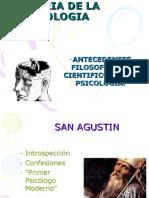 Antecedentes Filosficos y Cientficos de La Psicologa