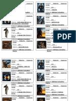 Etiquetas Halo