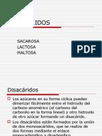 19 Disacaridos y Polisacaridos