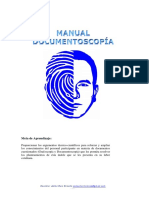 Manual de Grafoscopía y Documentoscopía