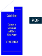 Calvinism, Contrary to God's Word and Man's Moral Nature. Harris (Español)