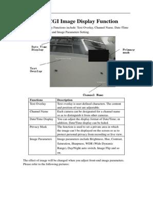HIKCGI Image Display Function   Hypertext Transfer Protocol