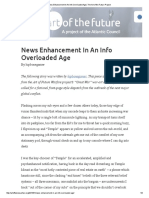 News Enhancement in an Info Overloaded Age _ the Art of the Future Project