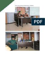 Dokumentasi Pelaksanaan Komunikasi Internal