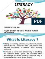 Rotary Club's Project on Literacy