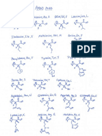 Amino Acids Perspective Drawings