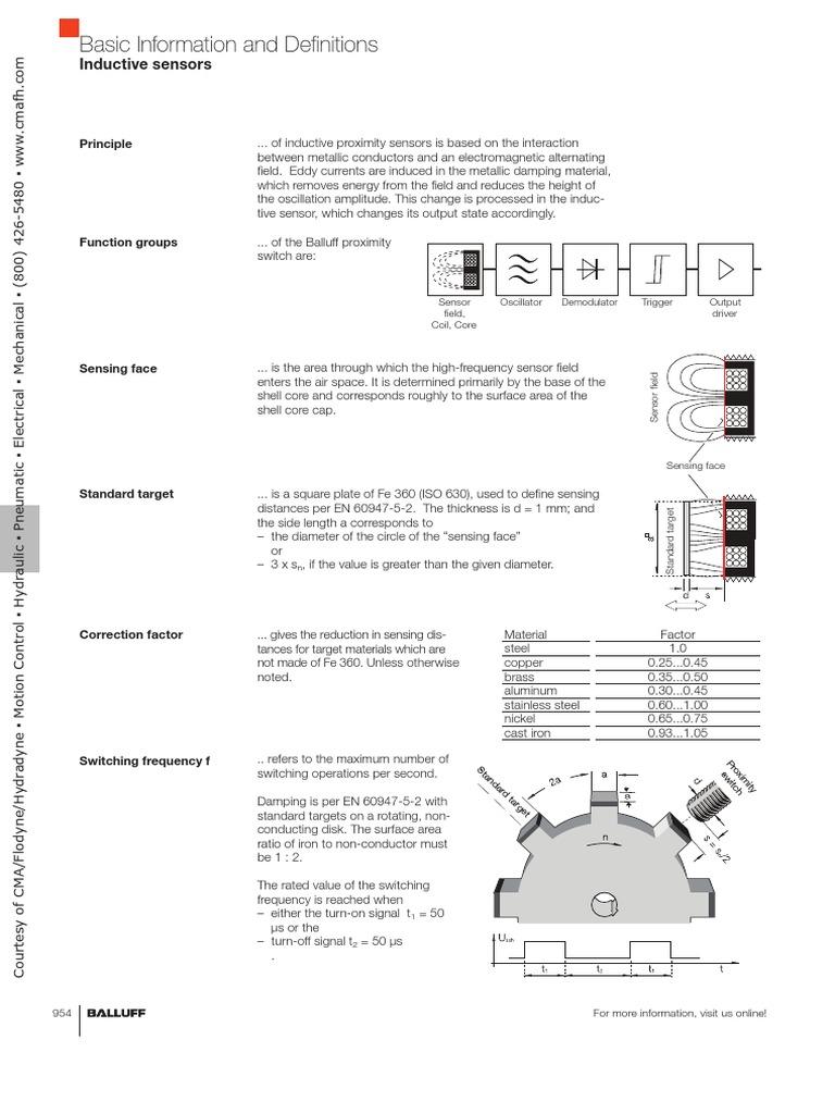 Balluff Sensor Wiring Diagram Durant Sony On Danfoss