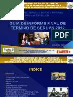 3. INFORME DE TERMINO SERUMS.pptx