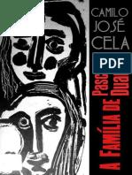 A Familia de Pascual Duarte - Camilo Jose Cela