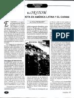 El ORSTOM, Percepcion Remota en America Latina y El Caribe