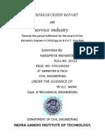 Enterprenurship Report