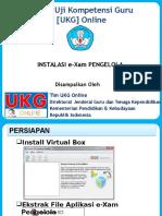 UKG Online GTK -Instalasi e-Xam Pengelola+Delta