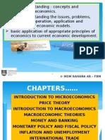 Chapter 1 (Intro to Microeconomics)