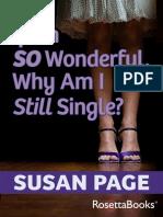 Susan Page if i 039 m So Wonderful Why Am i Still Single