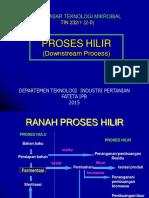 Dtm Ix. Proses Hilir 2015