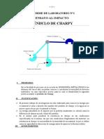 LABORATORIO N°1 PENDULO DE CHARPY