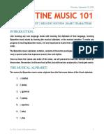 Byzanitne Music Class - Week 1-Word